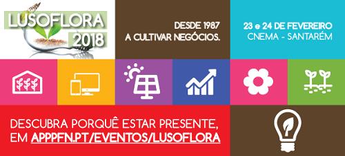 Lusoflora 2018 - 23 e 24 de fevereiro