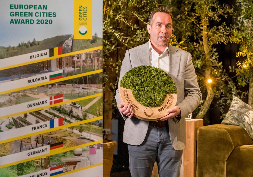 Concurso Internacional :  European Green Cities Award