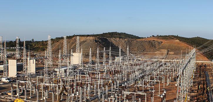 Subestação Eléctrica de Tavira 400/150/60kV – REN